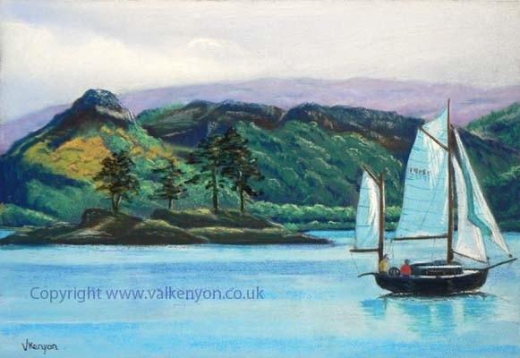 Sailing Past Plockton