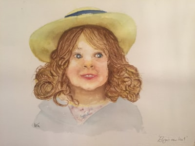 Eliza's new hat