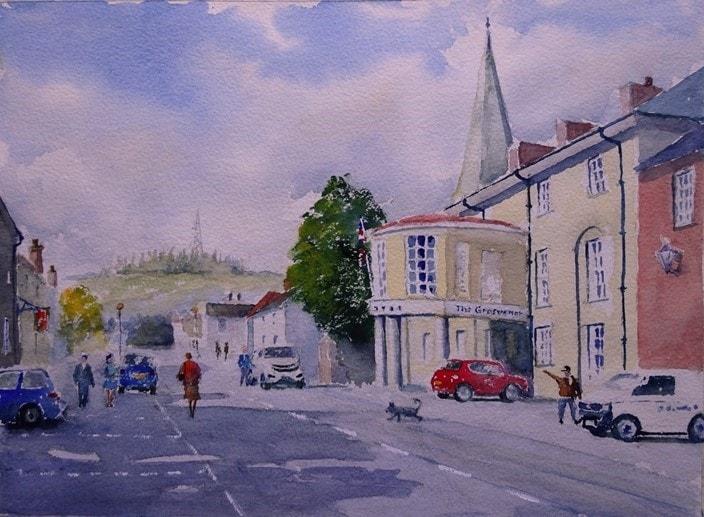 Stockbridge and the Grosvenor Hotel
