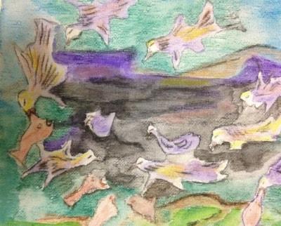 """Where the Mutton Birds fish"""