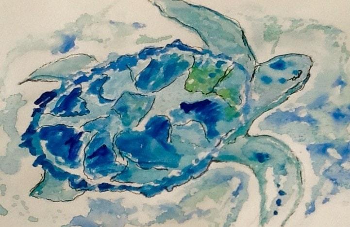 Blue Turtle - challenge