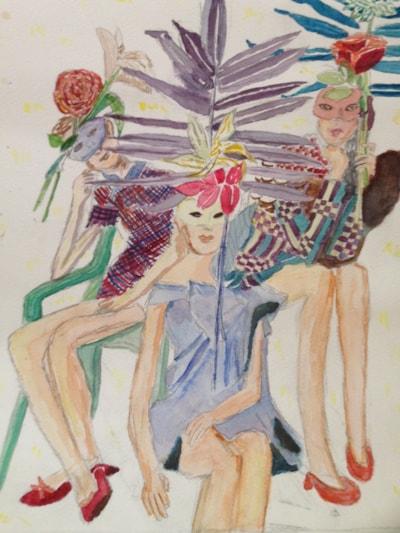 masked figures