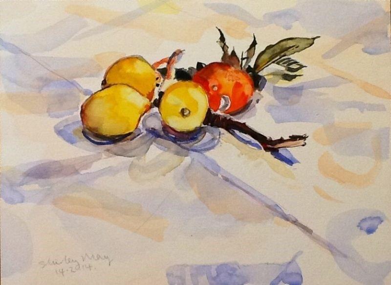 lemons and orange