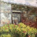 Old rose garden