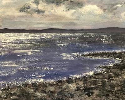 Sparkling sea ,The Isle of Arran.