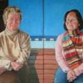 Ann & Emily OIl 2x 70cmsx50cms