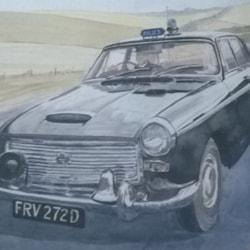 Classic Police Car