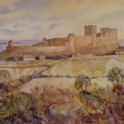 Bamburgh from Lonsdale Hill