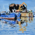 Whitstable Harbour Reflections