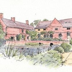 Flatford Mill - sketch
