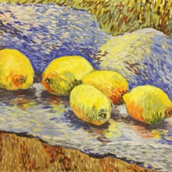Luminous Lemons - (final entry for Van Gogh comp)