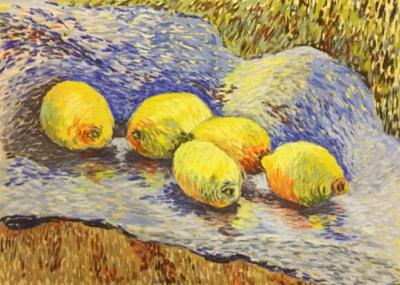 Luminous Lemons - (final entry for Van Gogh comp)