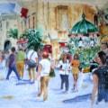 The Flower seller Valletta