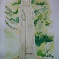 Cistercian monk