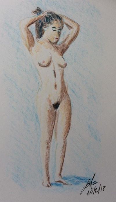 Nude study (Feb 2018)