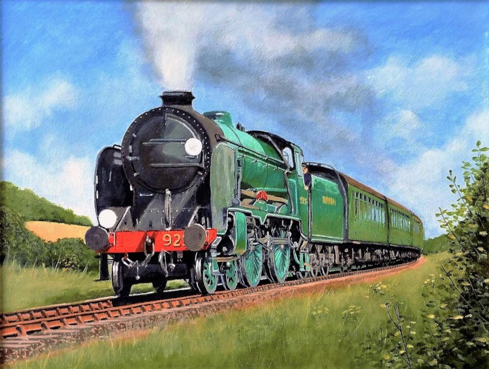 'Cheltenham' on the Watercress Line