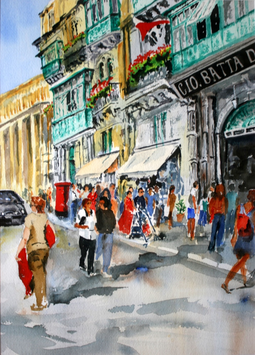Republik Street Valletta