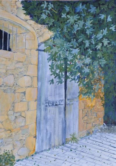 Courtyard, Polis, Cyprus