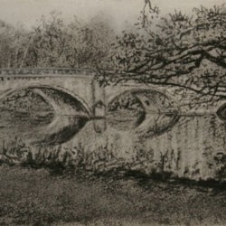 CLUMBER PARK IN CHARCOAL