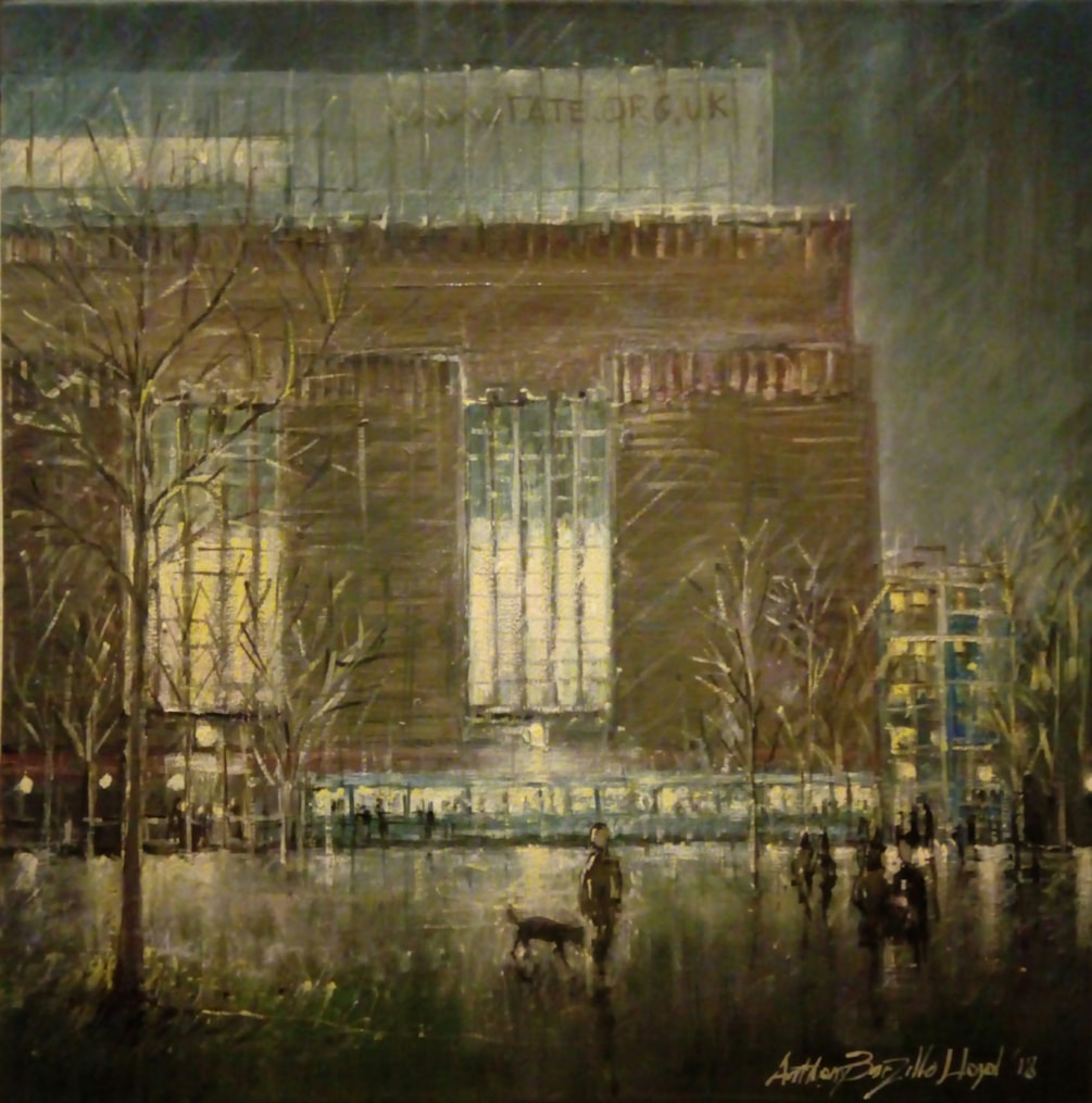 A friday night at Tate Modern, London