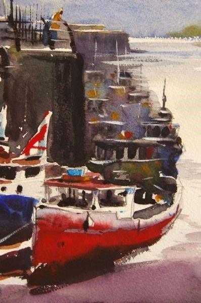 Newcastle Boats 2 - Close Up