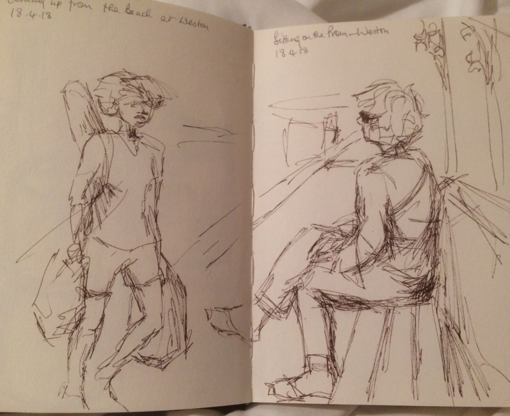 Weston super Mare sketch 4