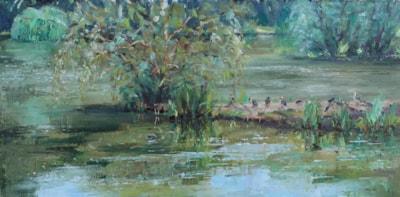 June afternoon, Nick's Lake