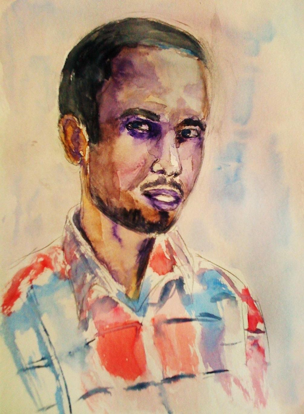 Abdalla's portrait