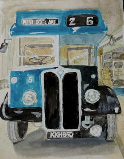 1950s Hull bus