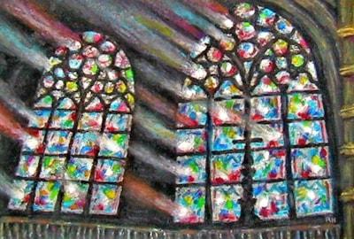 Notre Dame Paris - Beams of Faith