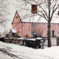 Suffolk Longhouse In Winter