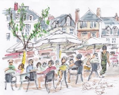 Place St Pierre, Saumur