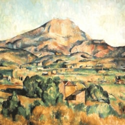 Cezanne Study 4 of 4 - This is based on the work of Paul Cézanne and has been re-produced by me and is not   the original