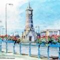 Skegness Clock Tower (sketch)