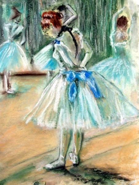 Impression of Degas - Dancer