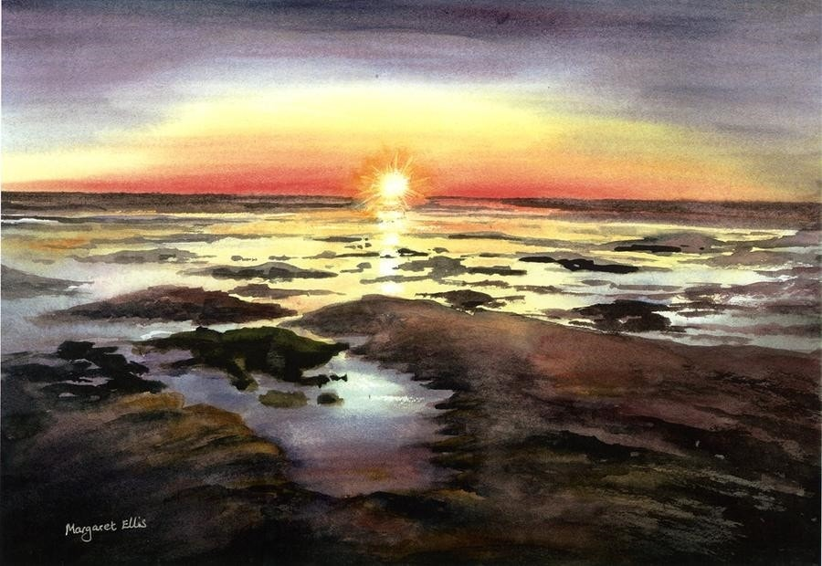 Estuary Sunset.