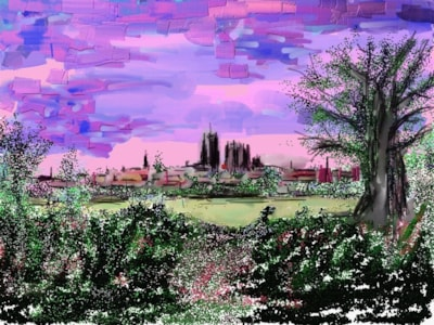 Durham City from Frankland Lane.