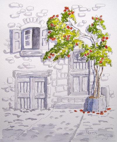 The Rose-tree