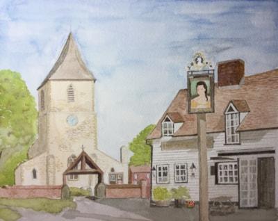 Sandridge village