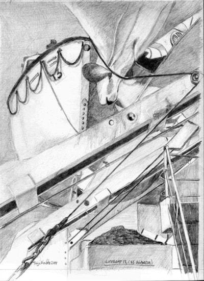 SS Uganda, lifeboat 13