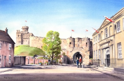 The East Gate, Lincoln Castle