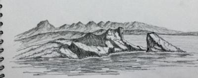 Split Rock, Clachtoll