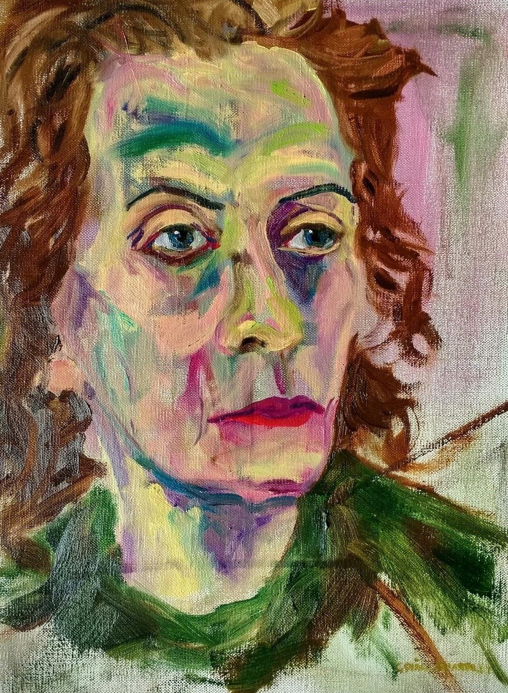Portrait - oil