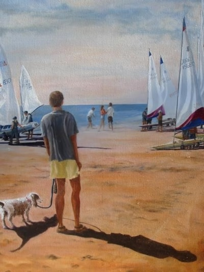Sailing south beach Bridlngton