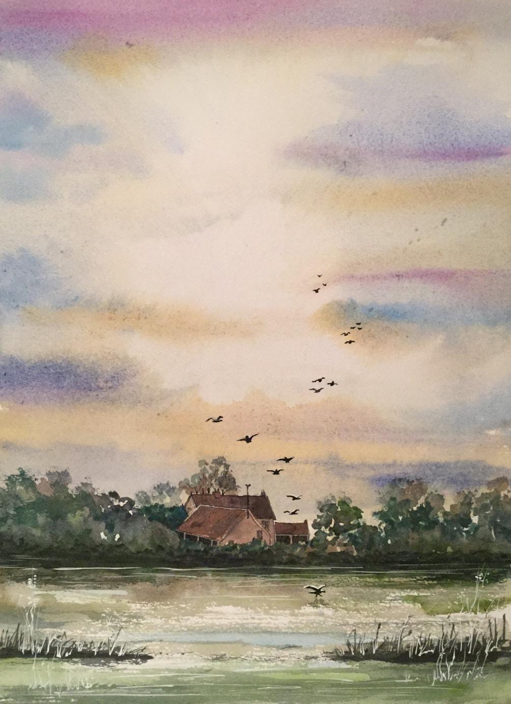 Farmhouse in Norfolk