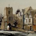 East Gate, Warwick - Plein-air Sketch