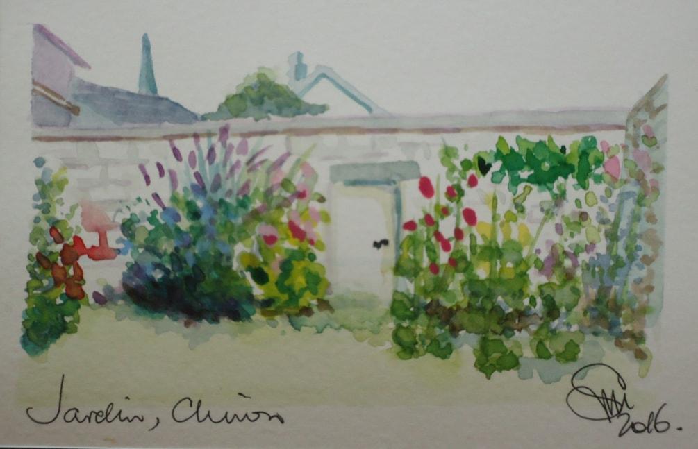 chinon jardin