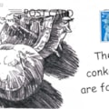 conkers postcard