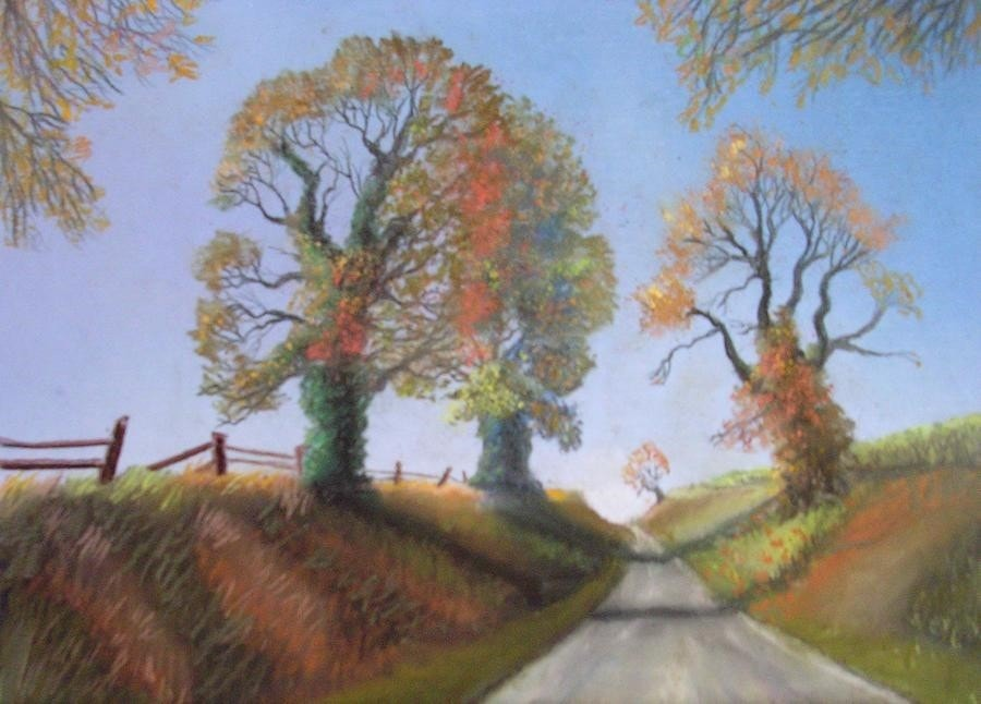 A Country Lane,