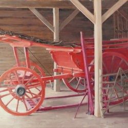 The Red Wagon at Wimple Hall Home Farm.